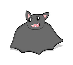 Funny Bat Drawing