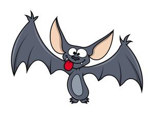 Funny Cute Small Bat - Halloween Vector Illustration Royalty-Free Stock  Image - Storyblocks