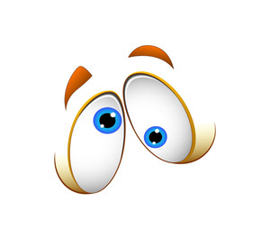 Funny Cartoon Eyes