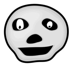 Funny Face Skull
