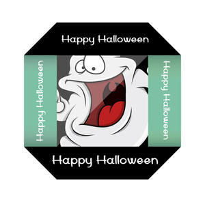 Funny Halloween Ghost Paper Frame