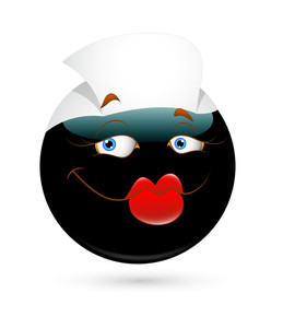 Funny Nurse Smiley