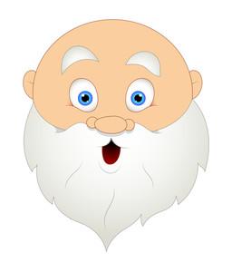 Funny Santa Face