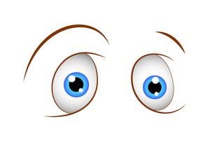 Funny Shocked Eyes