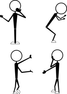 Funny Stick Figures Poses