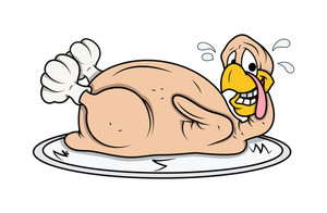 Funny Turkey Chicken