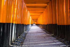 Fushimi Inari Taisha shrine. Kyoto. Japan