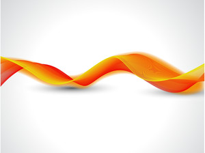 Futuristic Waves - Vector Background