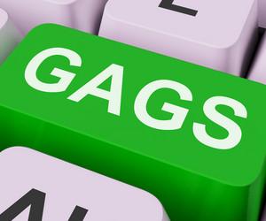 Gags Key Shows Humor Jokes Or Comedy