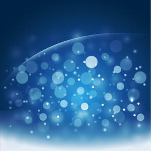 Galaxy Bubbles Style - Vector Background