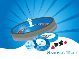 Gambling Wallpaper With Casino Elements