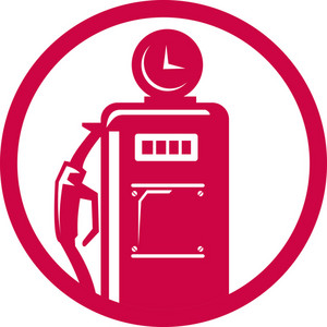 Gasoline Pump Filling Station