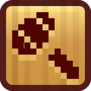 Gavel Brown Tiny App Icon