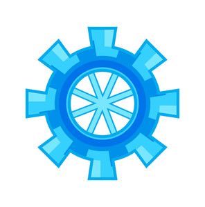 Gear Wheel Design Vector