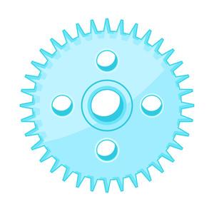 Gear Wheel Vector Design