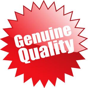 Genuine Quality Sticker