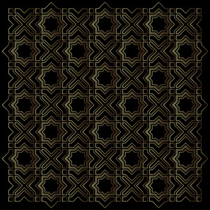 Geometric Islamic Pattern