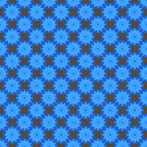 Geometrical Floral Background