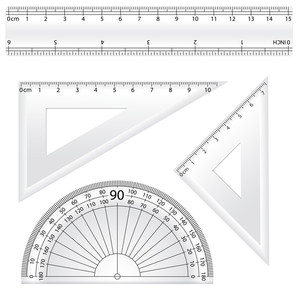 Geometry Rulers Vectors