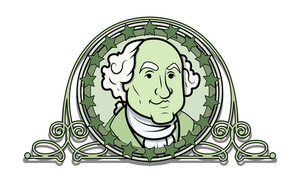 George Washington Vector Illustration Clip-art