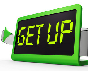Get Up Clock Message Meaning Wake Up And Rise