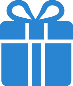 Gift Box Simplicity Icon