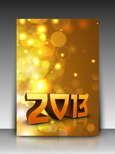 Gift Card For 2013 Happy New Year Celebration