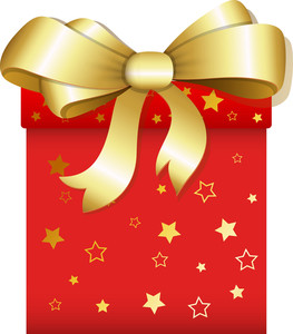 Gift - Christmas Vector Illustration