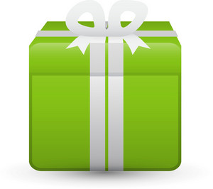 Gift Green Lite Ecommerce Icon