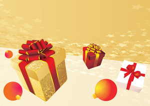 Gifts. Vector.