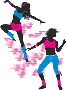 Girls Dance Vector