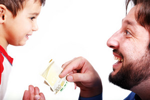 Giving a gift - money