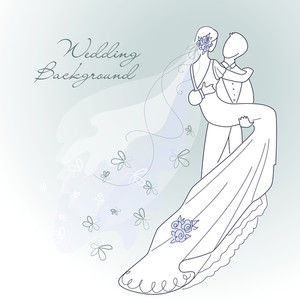 Glamorous Wedding Background