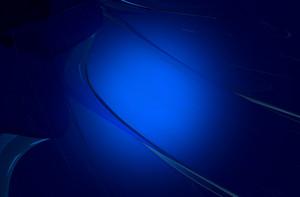 Glassy Dark Blue