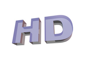 Glassy Hd Sign