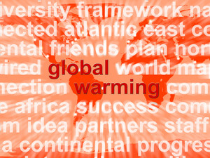Global Warming Words Showing Climate Conservation And Planet Protection