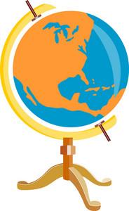 Globe America Retro