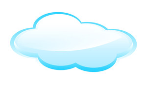 Glossy Cloud Banner