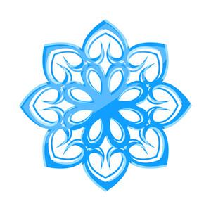 Glossy Snowflake