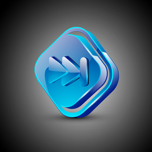 Glossy Web 2.0 Music Icon