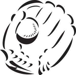 Glove With Baseball.