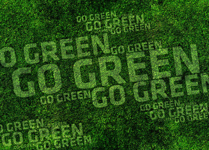 Go Green Background