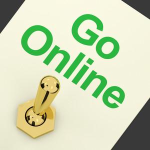 Go Online Switch For Online Websites Or Internet