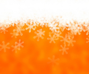 Gold Abstract Snow Background