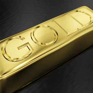 Gold Bar As Symbol For Wealth Or Treasure