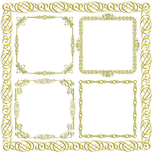 Gold Decorative Frames