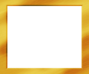 Gold Metal Frame