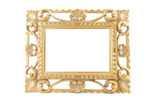 Gold Metal Frame