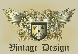Gold Vinatage Emblem