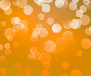 Gold Winter Bokeh Background